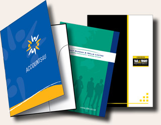 Presentation Folders Printing West Auckland