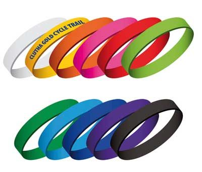 Silicone Wrist Bands Printing West Auckland