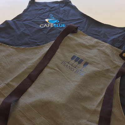 Aprons Printing West Auckland