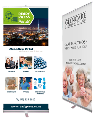 Pull Up Banners Printing West Auckland